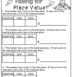 Place Value!   Maths Worksheets   Math [ 1325 x 1024 Pixel ]