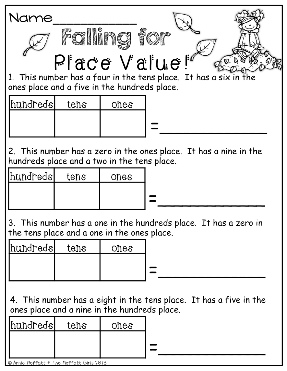 medium resolution of Place Value!   Maths Worksheets   Math