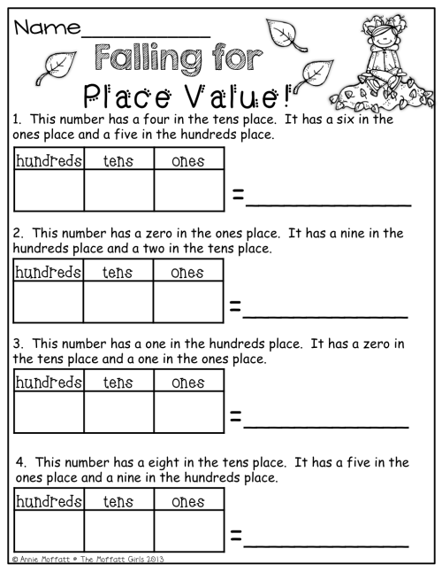 small resolution of Place Value!   Maths Worksheets   Math