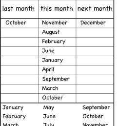Months Of The Year 1⪠Eval   Language Sheets   Worksheets [ 1964 x 1368 Pixel ]