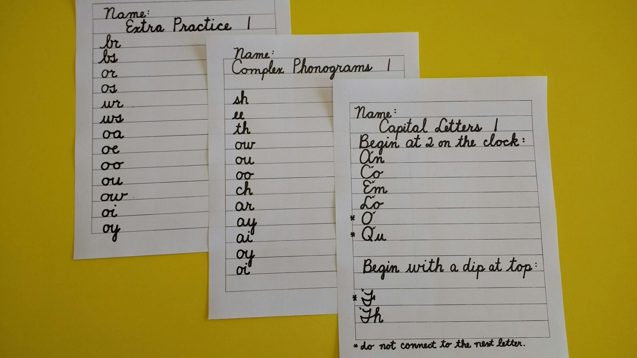 14 Best Cursive Writing Worksheets 2nd Grade Images On