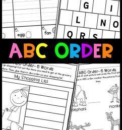Abc Order Worksheets- Alphabetical Order Practice   Ela Vocabulary on Best  Worksheets Collection 9715 [ 1251 x 736 Pixel ]