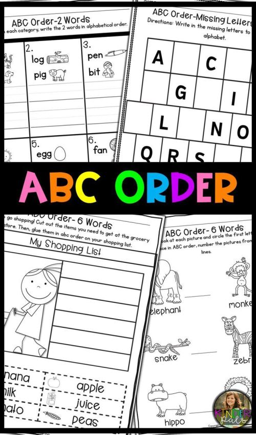 small resolution of Abc Order Worksheets- Alphabetical Order Practice   Ela Vocabulary on Best  Worksheets Collection 9715