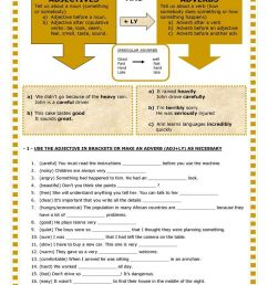 Adjectives And Adverbs Worksheet - Free Esl Printable Worksheets on Best  Worksheets Collection 868 [ 1079 x 763 Pixel ]