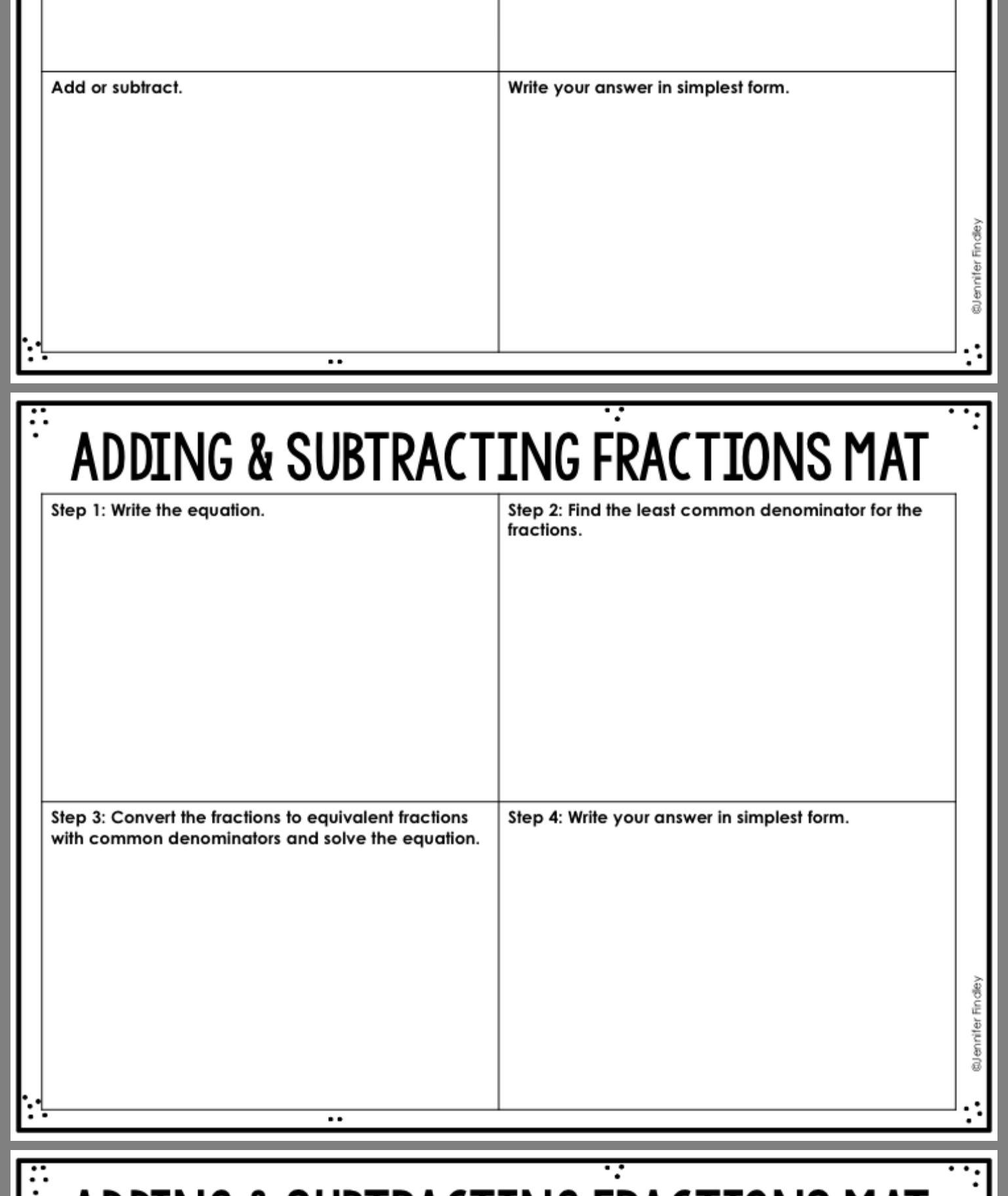 13 Best Equivalent Fraction Printable Worksheets Images On