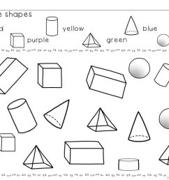 3d Shapes Worksheets And Activities   Shapes And Fractions   Shapes on Best  Worksheets Collection 2591 [ 768 x 1024 Pixel ]