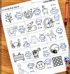 12 Best First Grade Blending Worksheets images on Best Worksheets Collection [ 1088 x 725 Pixel ]