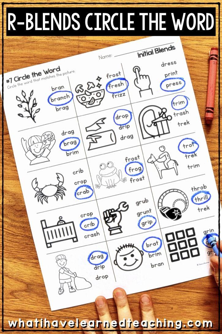 hight resolution of 12 Best First Grade Blending Worksheets images on Best Worksheets Collection