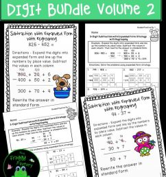 12 Best 4 Digit Subtraction Worksheets images on Best Worksheets Collection [ 1104 x 736 Pixel ]