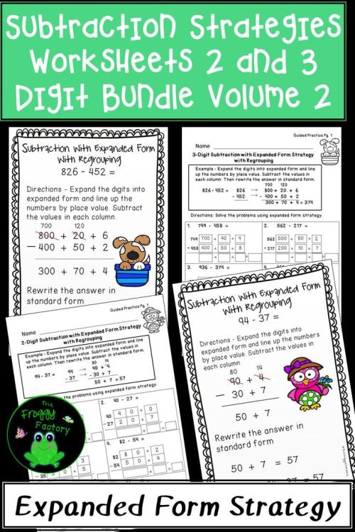 small resolution of 12 Best 4 Digit Subtraction Worksheets images on Best Worksheets Collection