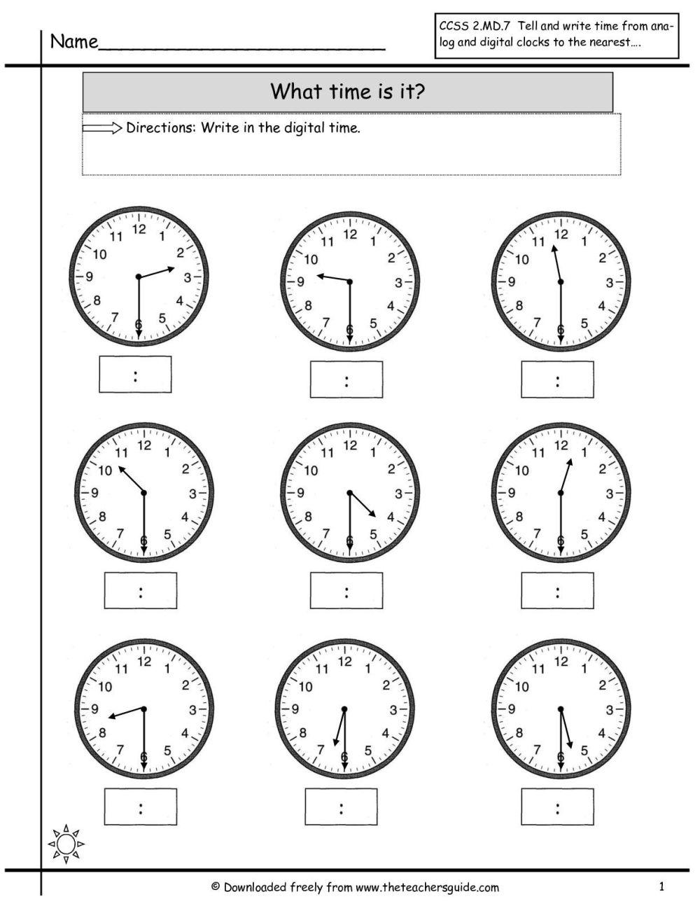 medium resolution of 16 Best Digital Time Telling Worksheets images on Best Worksheets Collection
