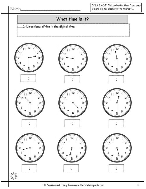 small resolution of 16 Best Digital Time Telling Worksheets images on Best Worksheets Collection