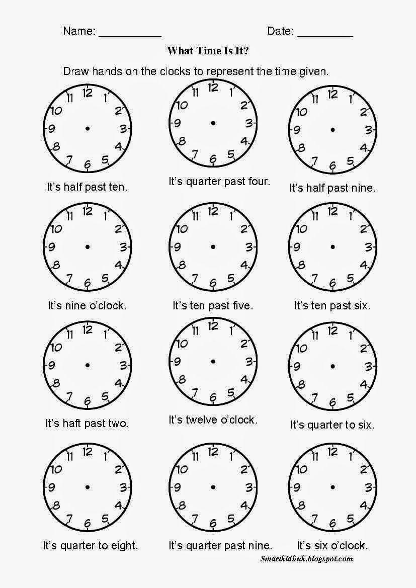 11 Best Printable Time Worksheets Half Hour images on Best