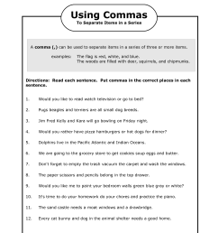 17 Best Punctuation Worksheets Grade 3 images on Best Worksheets Collection [ 1650 x 1275 Pixel ]