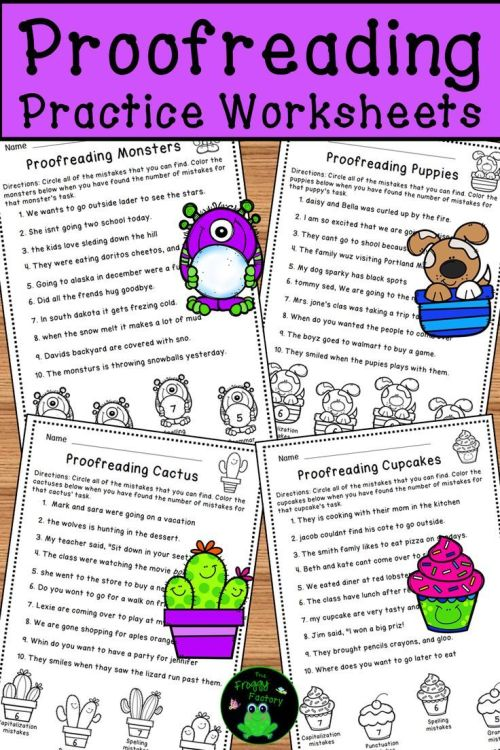 small resolution of Proofreading Worksheets - Editing Practice   Teaching English on Best  Worksheets Collection 3205