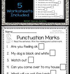 9 Best Ending Punctuation Worksheets images on Best Worksheets Collection [ 1704 x 736 Pixel ]