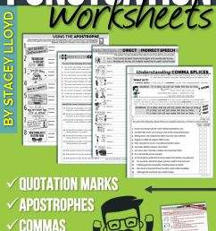 5 Free Punctuation Worksheets   Grade 6   Punctuation Worksheets on Best  Worksheets Collection 9547 [ 1323 x 720 Pixel ]