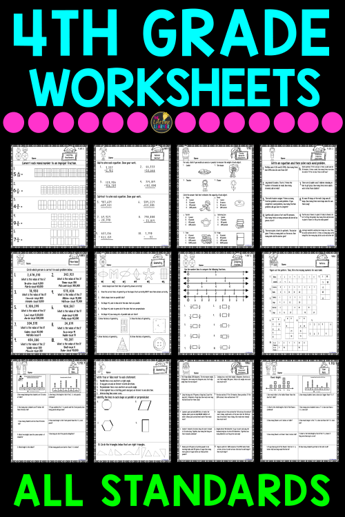 small resolution of 4th Grade Printable Math Worksheets Perimeter   Printable Worksheets and  Activities for Teachers