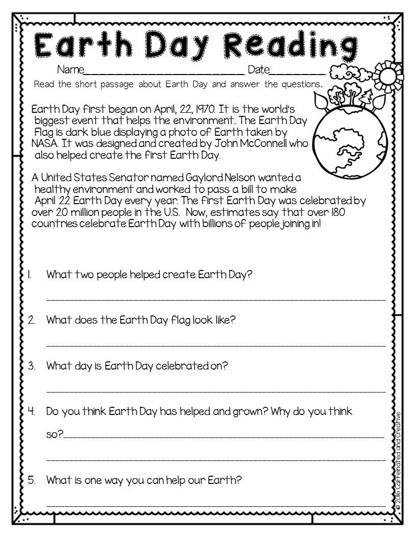 hight resolution of Spring Into Spring   Holidays   Earth Day Worksheets
