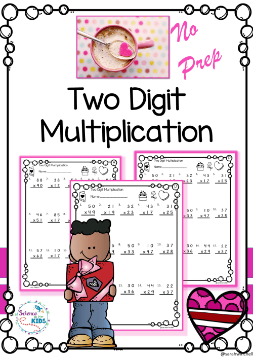 small resolution of Multiplication Worksheets Grade Three   Printable Worksheets and Activities  for Teachers