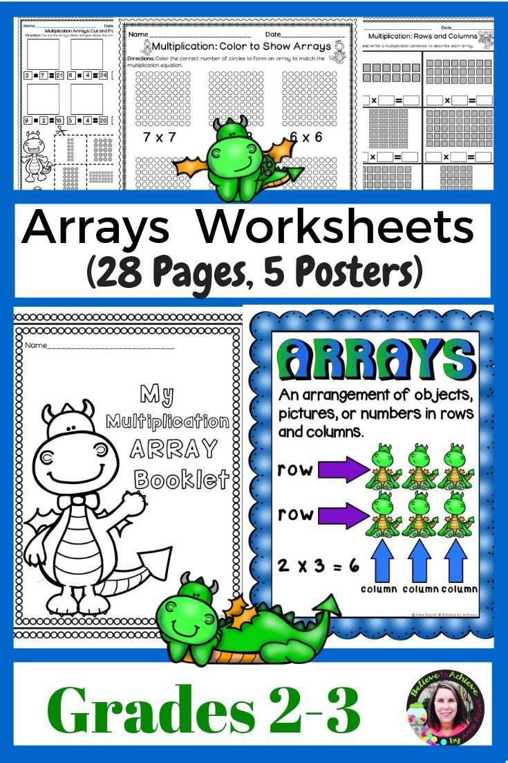 hight resolution of 12 Best Arrays Worksheets images on Best Worksheets Collection