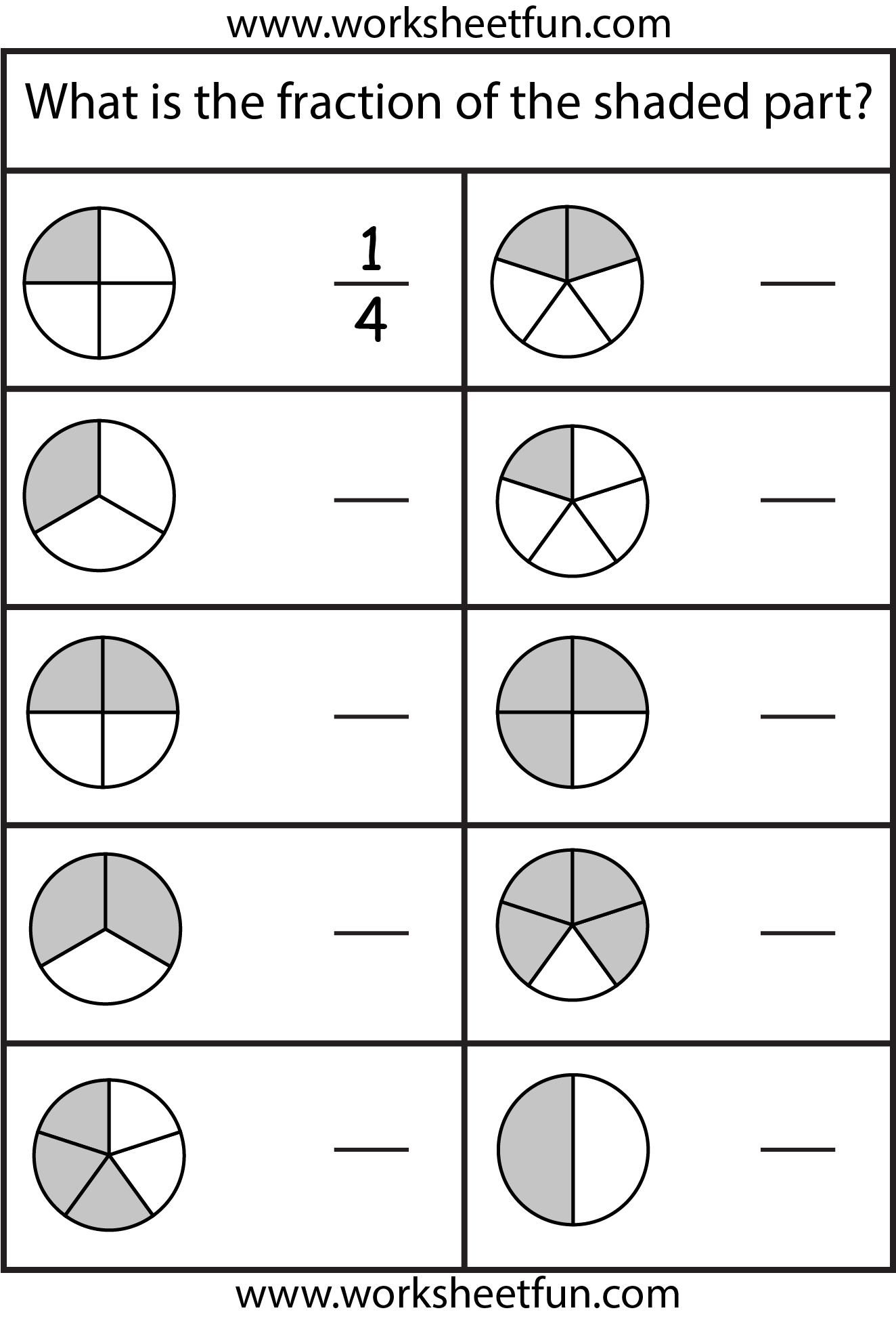 14 Best 3rd Equivalent Fractions Worksheets By Grade 4