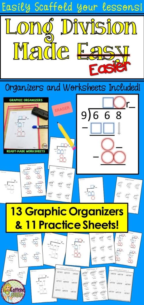 small resolution of Long Division Worksheets And Organizers   Grade 4 Work   Long on Best  Worksheets Collection 2893