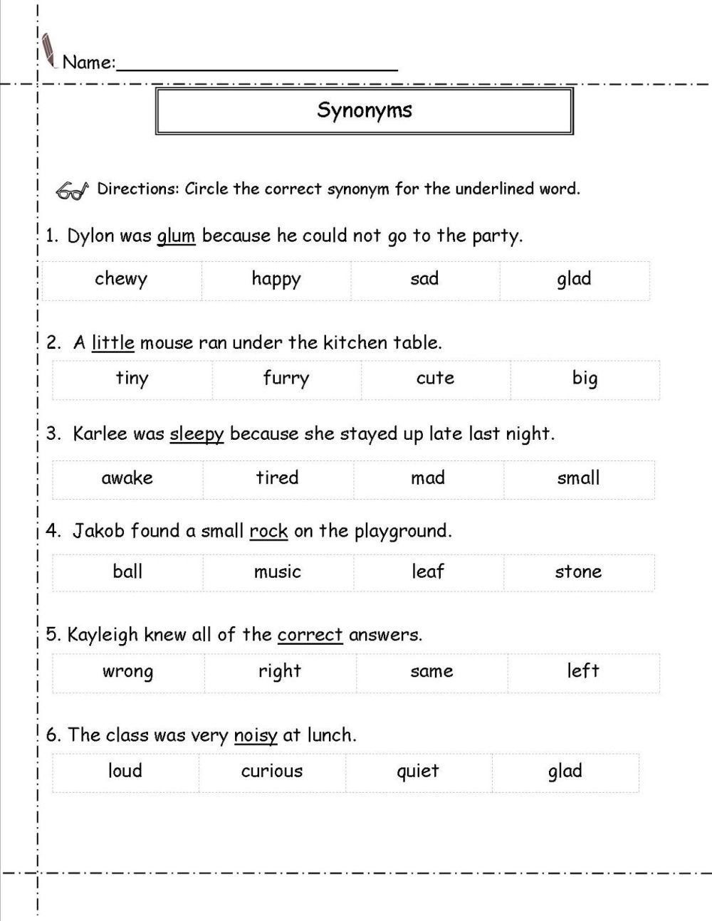 medium resolution of 13 Best Antonyms Worksheets For 3rd Grade images on Best Worksheets  Collection