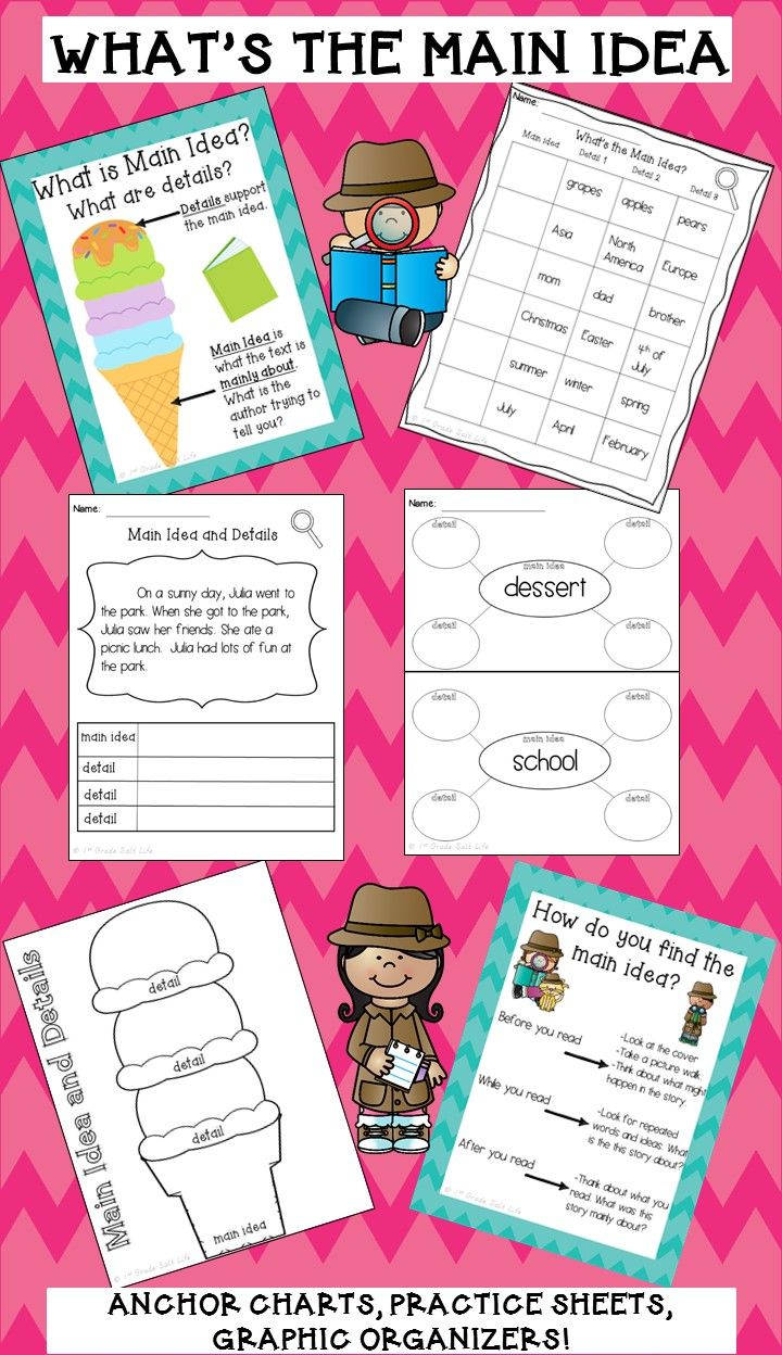hight resolution of 4th Grade Main Idea Worksheets   Chin on Best Worksheets Collection 8737