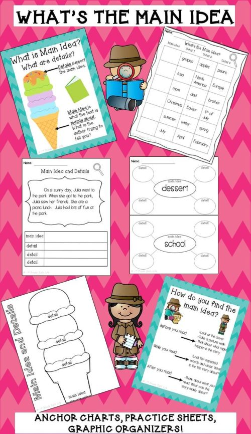 small resolution of 4th Grade Main Idea Worksheets   Chin on Best Worksheets Collection 8737
