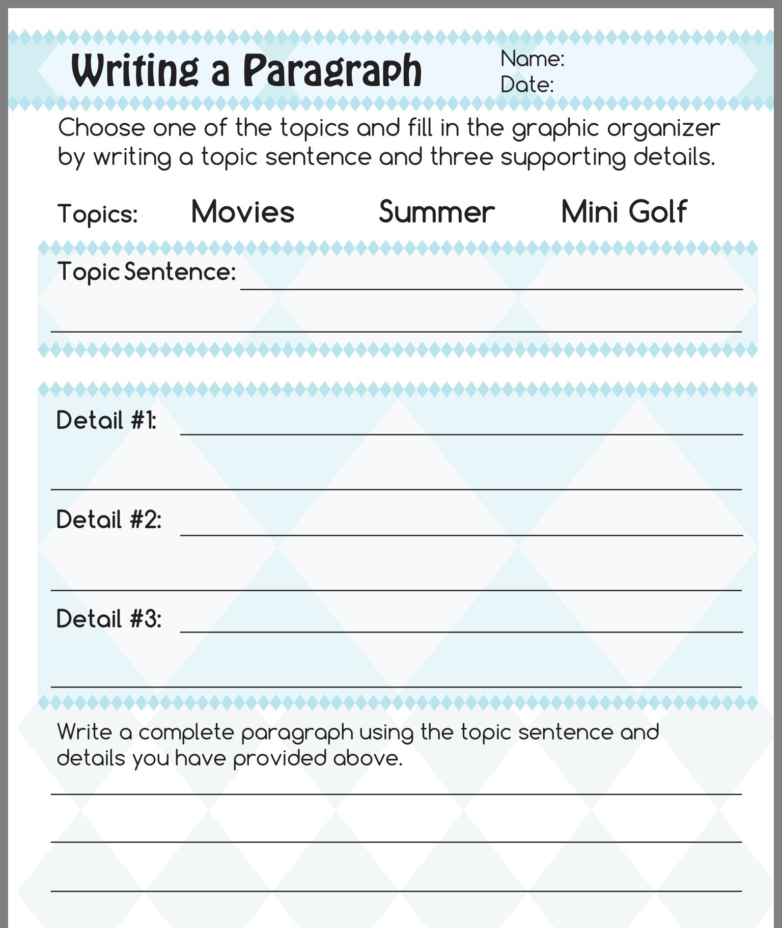 12 Best Finding Main Ideas And Details Worksheets Images