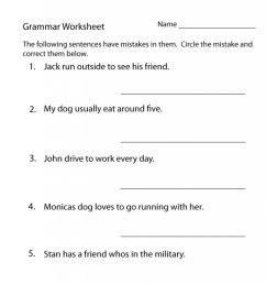 13 Best 3th Grade Grammar Worksheets images on Best Worksheets Collection [ 1024 x 791 Pixel ]