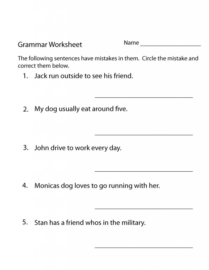 medium resolution of 13 Best 3th Grade Grammar Worksheets images on Best Worksheets Collection