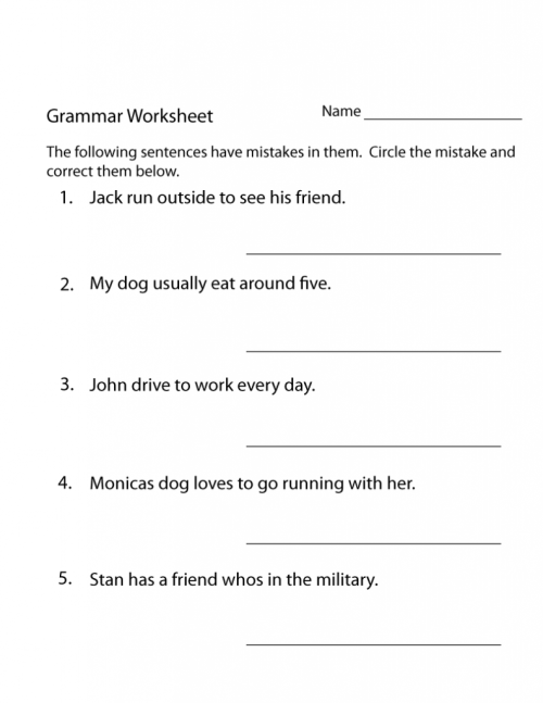 small resolution of 13 Best 3th Grade Grammar Worksheets images on Best Worksheets Collection