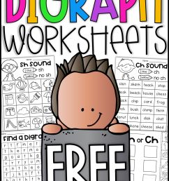 Free Digraph Worksheets - Ch [ 3000 x 2250 Pixel ]