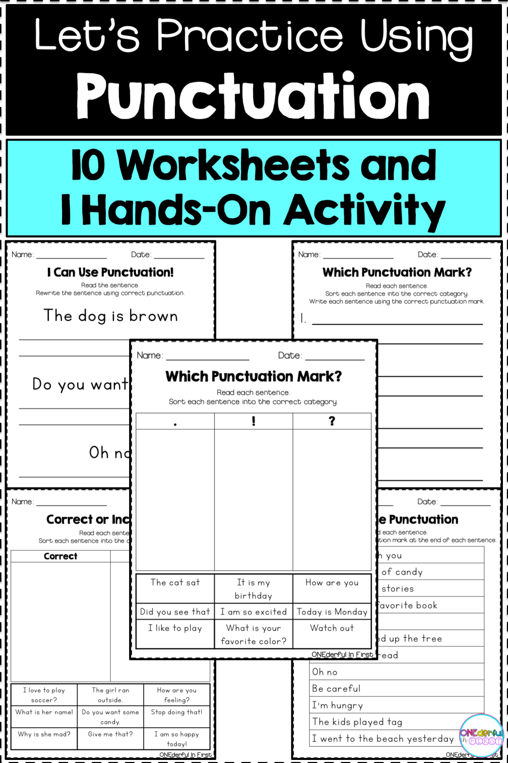 medium resolution of Advanced Punctuation Worksheets   Printable Worksheets and Activities for  Teachers