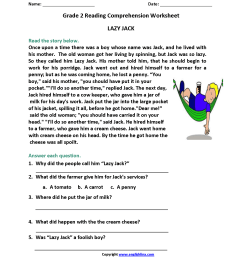 9 Best 4th Grade Reading Skills Worksheets images on Best Worksheets  Collection [ 2200 x 1700 Pixel ]