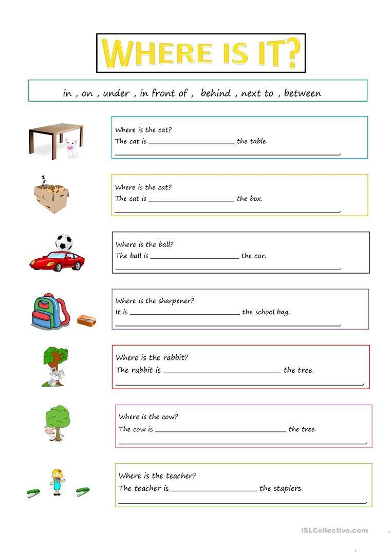 hight resolution of Prepositions Worksheet - Free Esl Printable Worksheets Made on Best  Worksheets Collection 5486