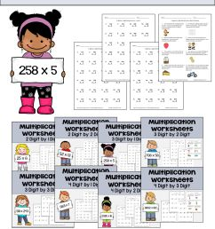 8 Best Holloween Fun Multiplication Worksheets 4th Grade images on Best  Worksheets Collection [ 4200 x 2400 Pixel ]