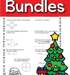 13 Best Holiday Math Worksheets 4th Grade images on Best Worksheets  Collection [ 1876 x 1251 Pixel ]