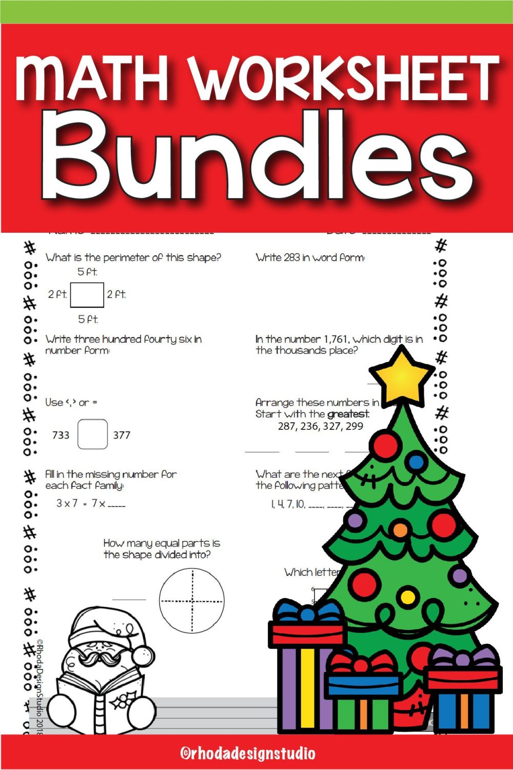 medium resolution of 13 Best Holiday Math Worksheets 4th Grade images on Best Worksheets  Collection