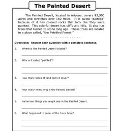 13 Best 4th Grade Reading Worksheets To Print Out images on Best Worksheets  Collection [ 1024 x 791 Pixel ]