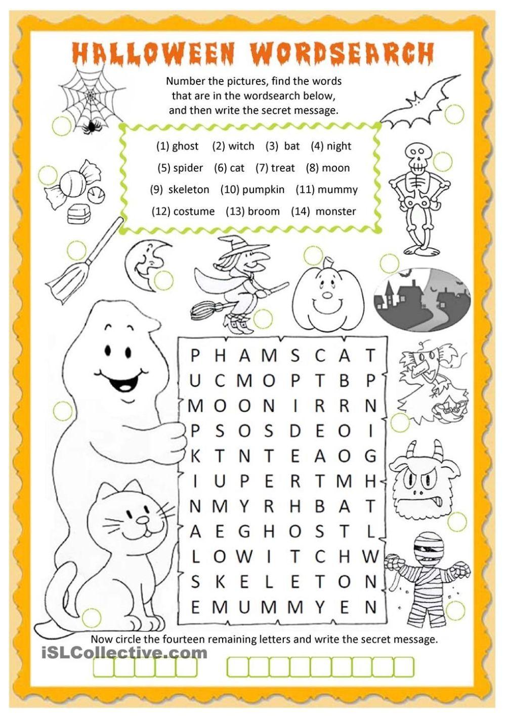 medium resolution of 11 Best Halloween Printable Math Worksheets Grade 1 images on Best  Worksheets Collection