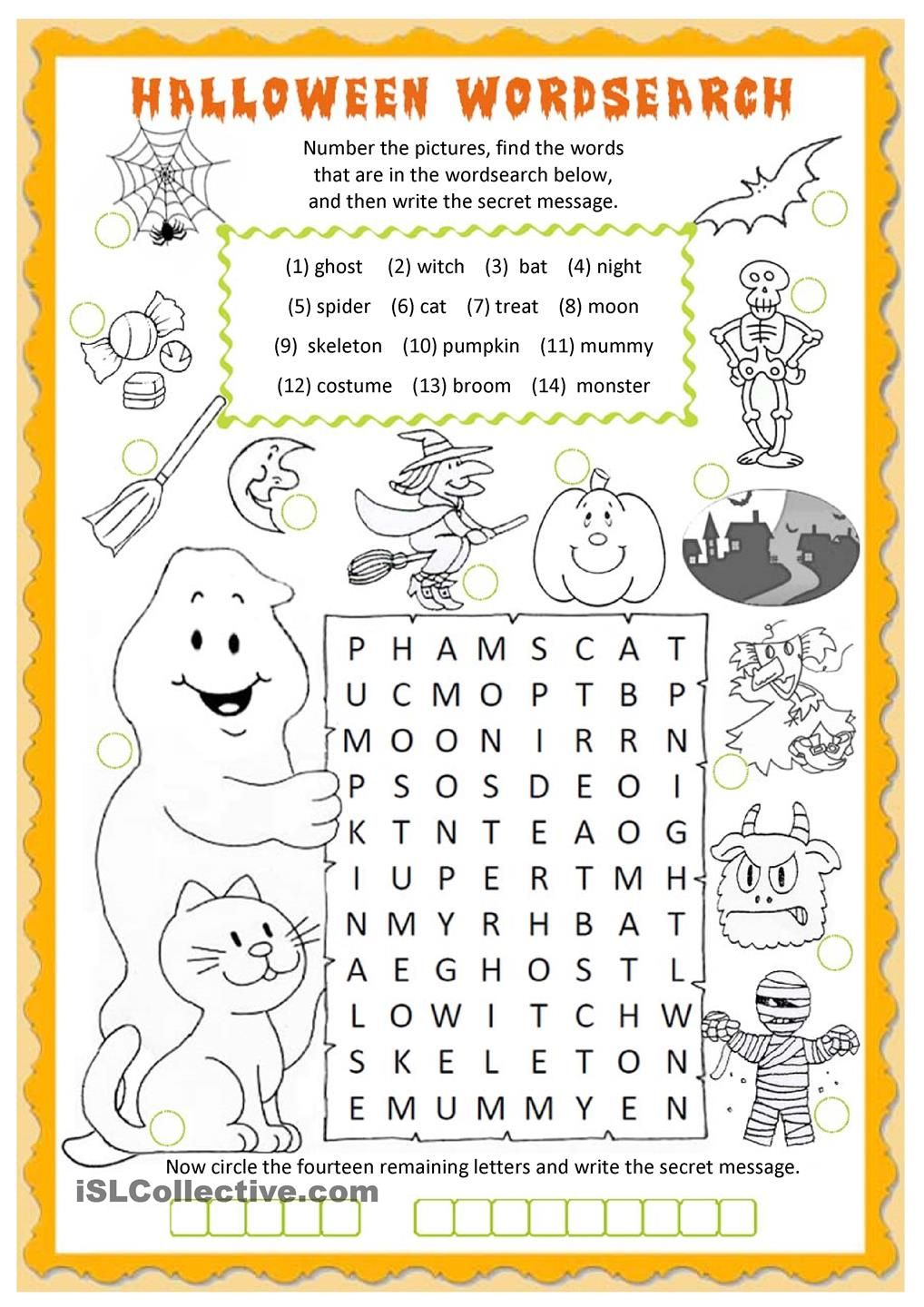 hight resolution of 11 Best Halloween Printable Math Worksheets Grade 1 images on Best  Worksheets Collection