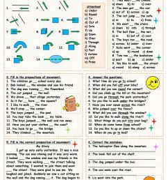 8 Best Preposition Worksheets For Fifth Grade images on Best Worksheets  Collection [ 1440 x 1018 Pixel ]