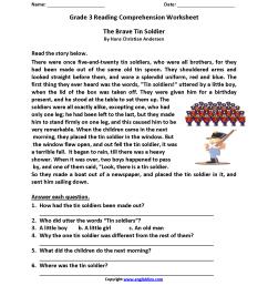 Brave Tin Soldier Third Grade Reading Worksheets   Desktop on Best  Worksheets Collection 7767 [ 2200 x 1700 Pixel ]