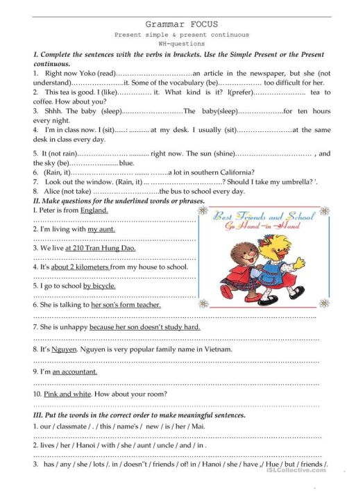 small resolution of 9 Best English Grammar Worksheets Parts Of Speech images on Best Worksheets  Collection