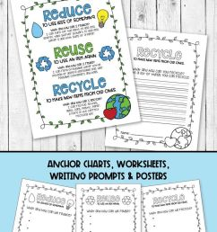 Recycling Anchor Charts   Recycle Earth Day Worksheets on Best Worksheets  Collection 3963 [ 1385 x 736 Pixel ]