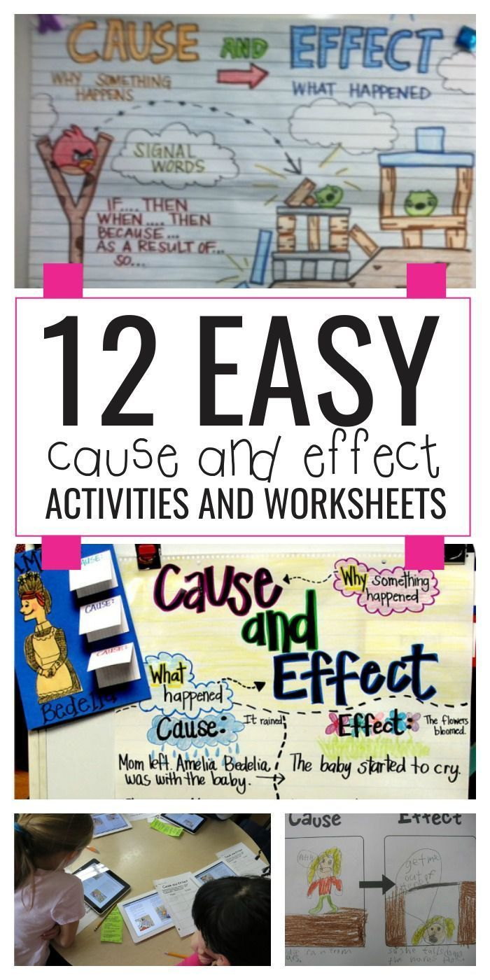medium resolution of 7 Best Cause And Effect 4th Grade Worksheets images on Best Worksheets  Collection