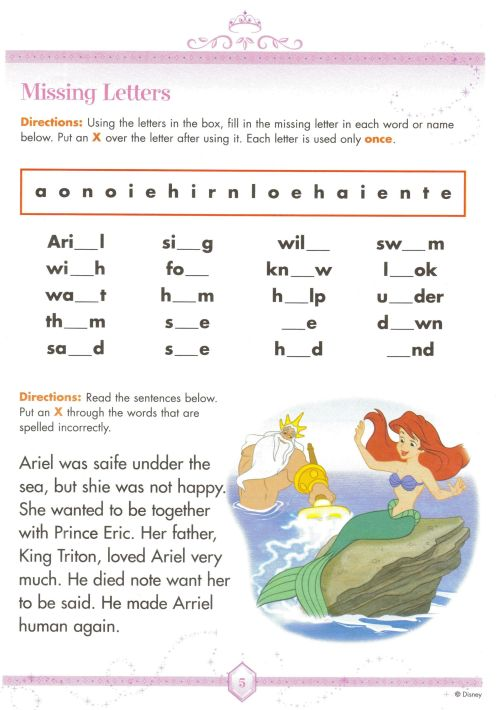 small resolution of Disney Worksheet   Learning For Kids   Spelling Worksheets on Best  Worksheets Collection 9816
